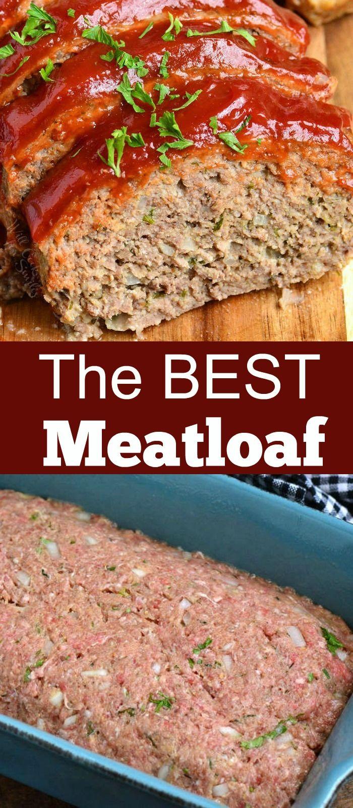 The Very Best Meatloaf Meatloaf Recipes Recipes Best Meatloaf