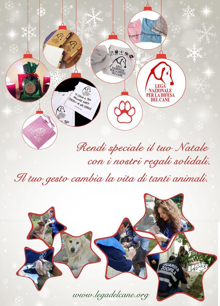 Rendi speciale il tuo #Natale con i nostri regali #solidali. Il tuo gesto cambia la vita di tanti #animali.