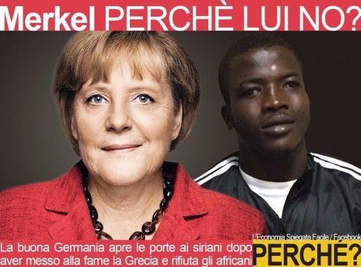 Una disamina disincantata di A.M. Rinaldi (Scenarieconomici.it) sul recente buonismo tedesco nei confronti dell'immigrazione. Il nuovo ordine europeo.