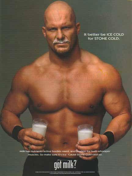 Stone Cold Steve Austin - Got Milk?