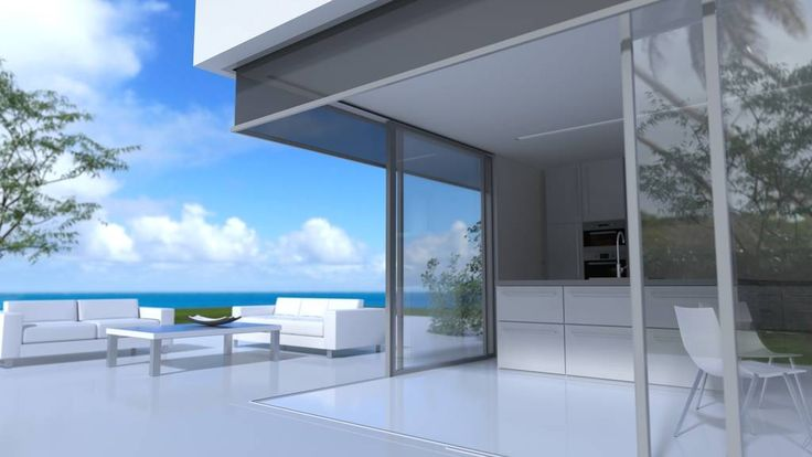 Renson Panovista, protección solar para esquinas