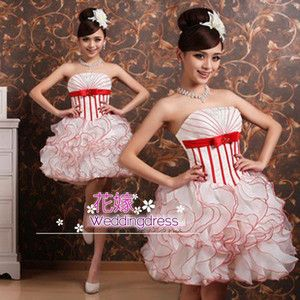 花嫁 二次会ミニドレス 花嫁ウェディングドレス 結婚式 ドレス 披露宴ドレス パーティードレス カラー ミニドレス 二次会 ドレス