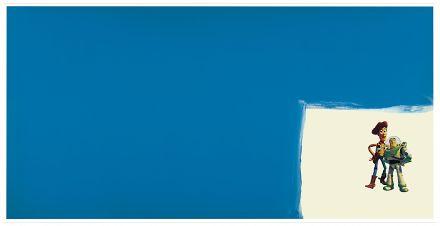 Michael Majerus, Untitled (1996), via Matthew Marks