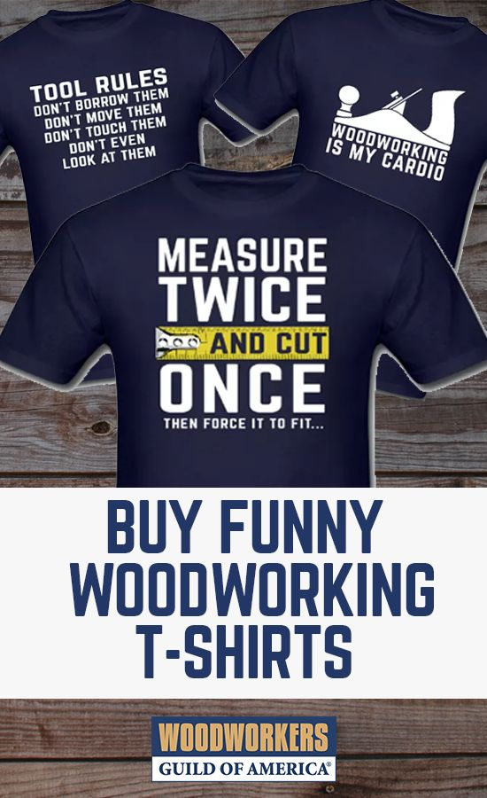 Apparel from WoodWorkers Guild of America