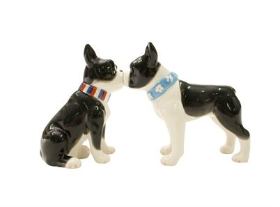 Boston Terriers salt and pepper shakers-I have these <3