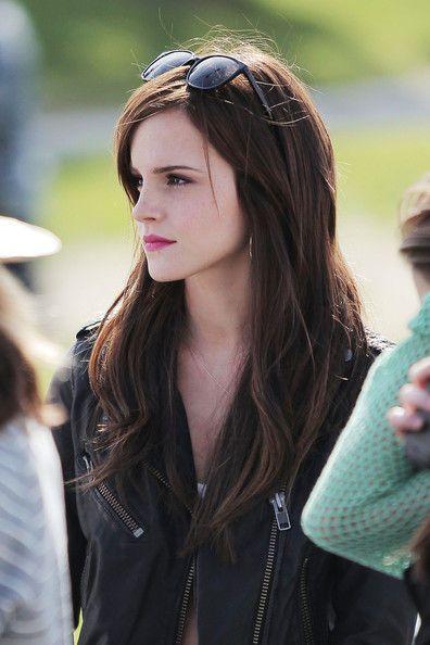 .Crazy Hair, Girls Crushes, Dark Hair, Long Hair, Emmawatson, Emma Watson, Beautiful, Hermione Granger, The Bling Rings