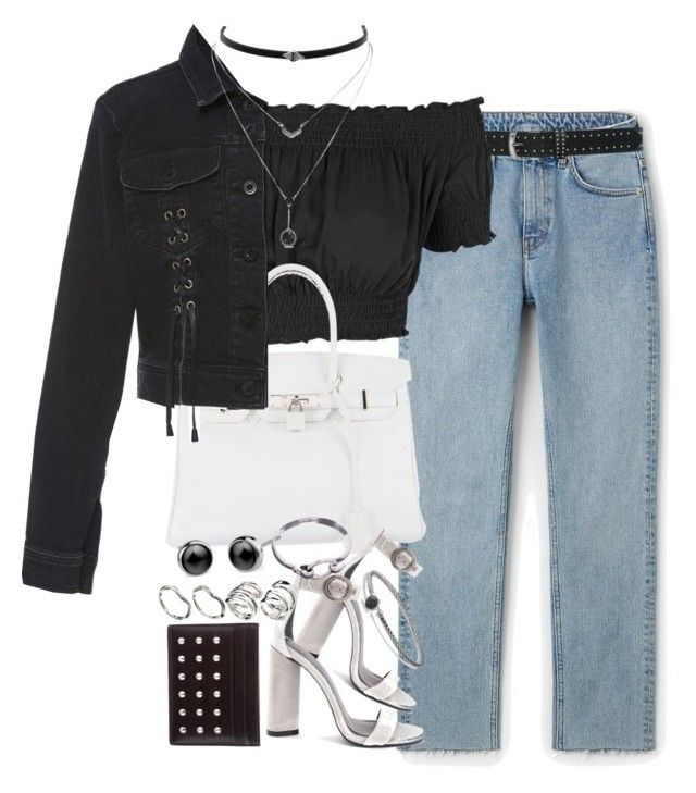 """""""Unbenannt #1191"""" by flytotheunknown ❤ liked on Polyvore featuring M&Co, Topshop, Hermès, Jonathan Simkhai, Kendall + Kylie, David Yurman, Jessica Simpson, Yves Saint Laurent and ASOS"""