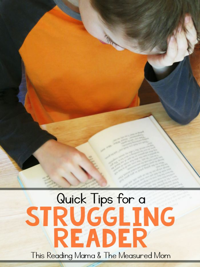 how to teach a struggling child to read