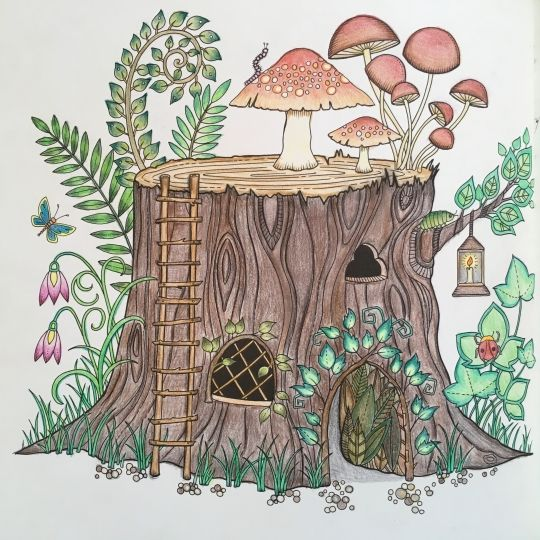 140 Best Enchanted Forest Tree Trunk With Mushrooms Images