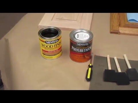 How to stain replacement cabinet doors - http://designmydreamhome.com/how-to-stain-replacement-cabinet-doors/ - %announce% - %authorname%