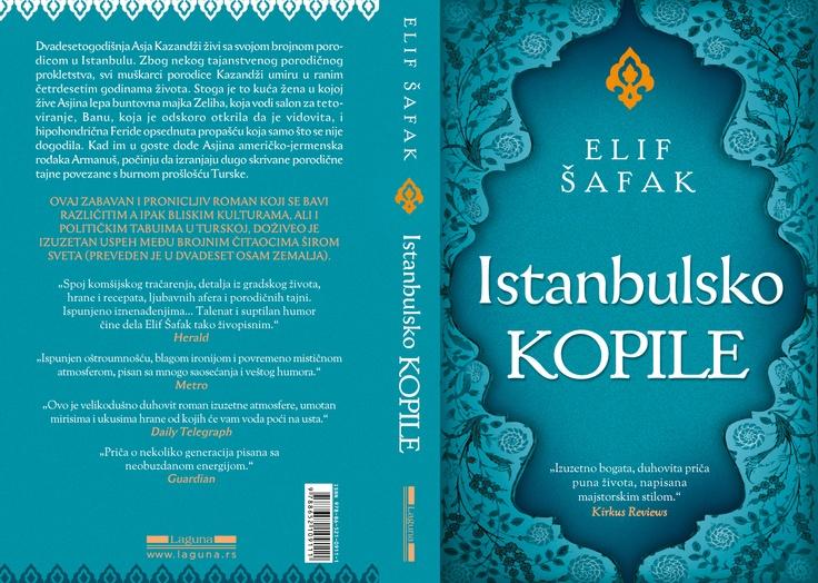 Baba ve Piç'in Sırpça baskısının kapağı.The Bastard of Istanbul in Serbian.