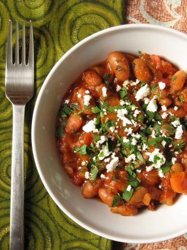 Görög sült bab, nyár a télben - KajaPiaZongora - recept, receptek