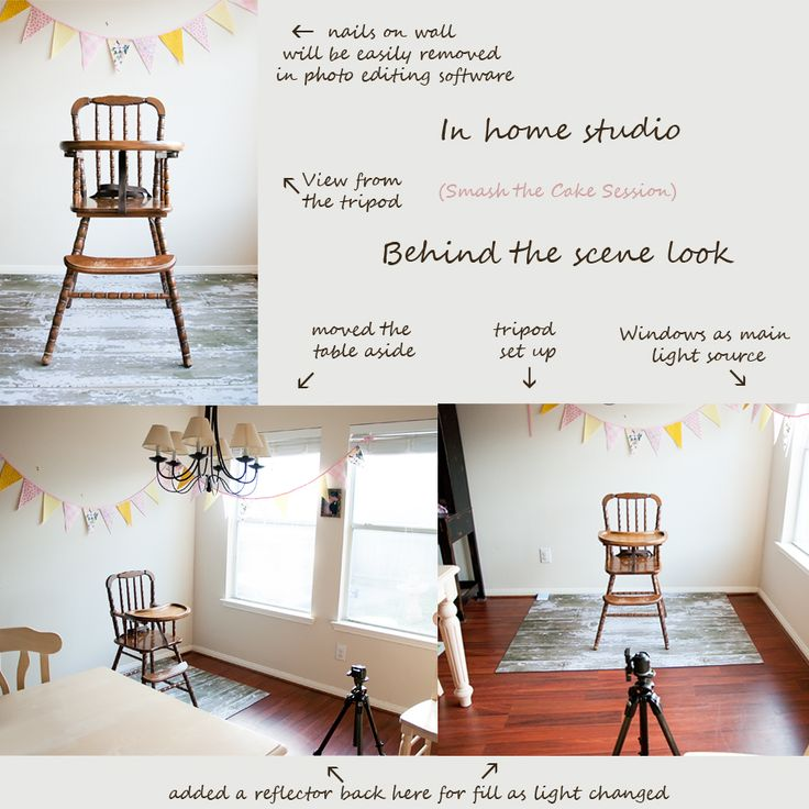 How to set up a natural light studio in your own home