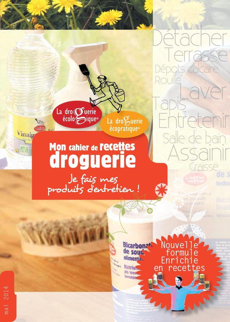 Brochure droguerie version 2014