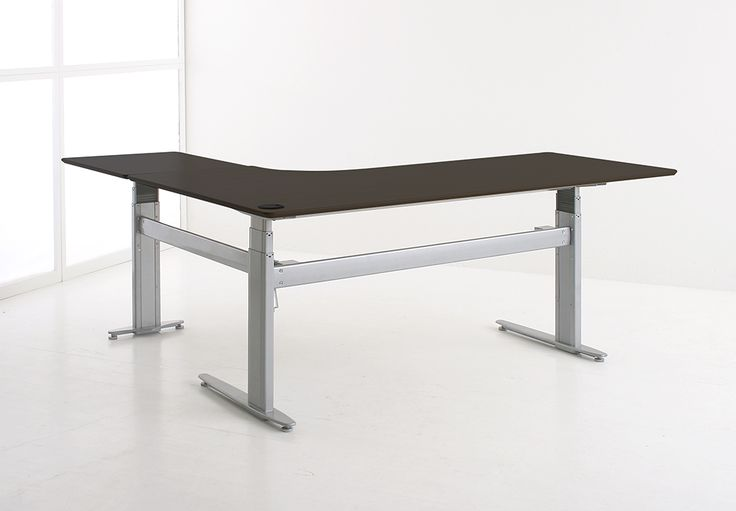Опора Conset 501-29 для углового стола на трех ножках с электроприводом