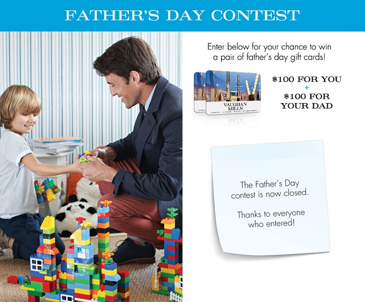 father's day contest singapore 2014