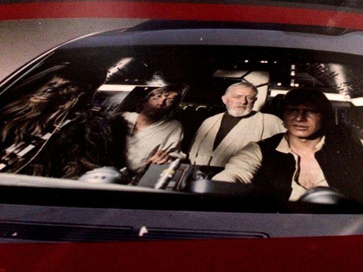 Star Wars Millennium Falcon Sun Shade Accordion Windshield Shade Universal New #Plasticolor
