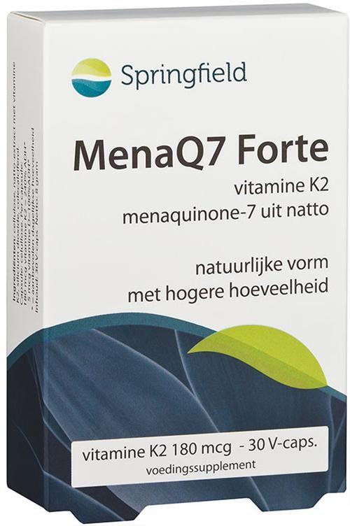 Description: Vitamine K2 in de vorm van menaquinone-7 komt oorspronkelijk uit natto. Dit is een typisch Japans product verkregen uit de fermentatie (met Bacillus subtilis natto) van sojabonen. Natto is van nature rijk aan vitamine K2 en dan in het bijzonder het menaquinone-7. Deze natuurlijke vitamine K2-vorm is goed opneembaar en blijft langer in het lichaam dan andere vitamine K2-vormen die bijvoorbeeld ook in kaas en kwark voorkomen. Vitamine K is belangrijk voor de bloedstolling maar uit…