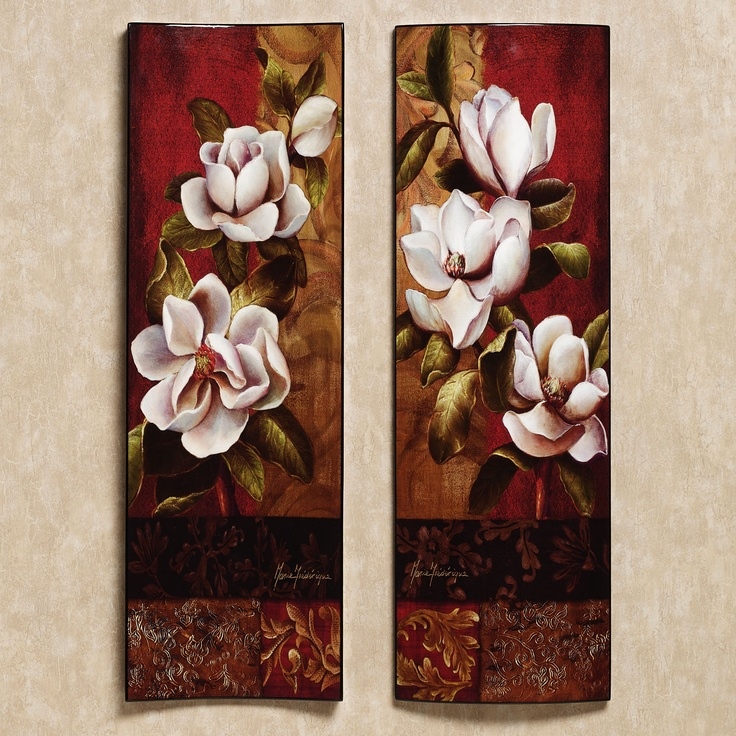A Touch Of Class Home Decor: Magnolia Elegante Wall Art