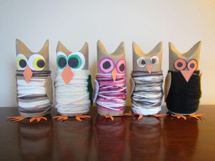 DIY: Owl Family Pinned by www.myowlbarn.com