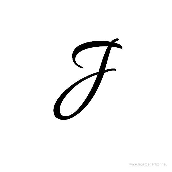 cursive j tattoo fonts - Google Search