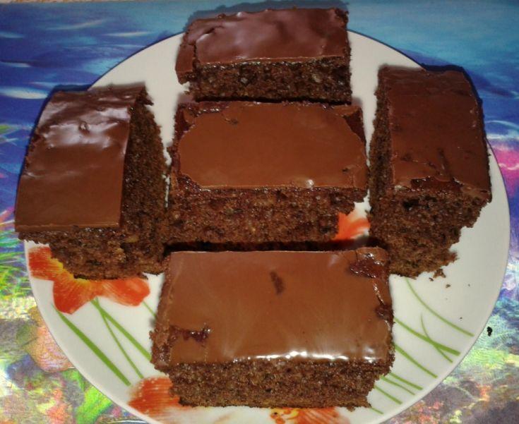 Perník s džemom a čokoládou
