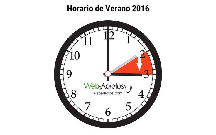 Inicia el horario de verano 2016 el domingo 3 de Abril - https://webadictos.com/2016/04/02/inicia-horario-verano/?utm_source=PN&utm_medium=Pinterest&utm_campaign=PN%2Bposts