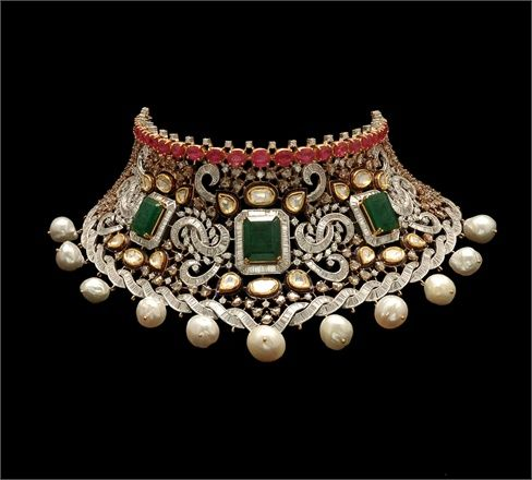 Choker by Anmol Jewellers of India