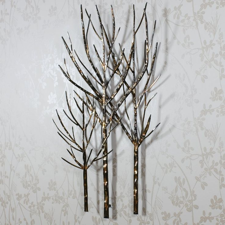 17 best images about diy on pinterest metals metal tree for Best brand of paint for kitchen cabinets with metal wall art trees and branches