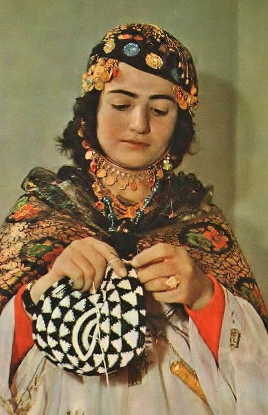Kurdish, from Iraqi Kurdistan.  Ca. 1960.