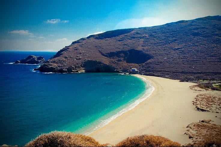 Ahla beach, Andros, Greece