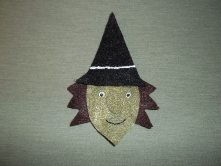 Witch Finger Puppet $1.00