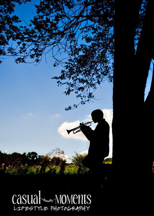 senior Portrait with Trumpets   senior portraits for Peters Township High School, senior pictures ...