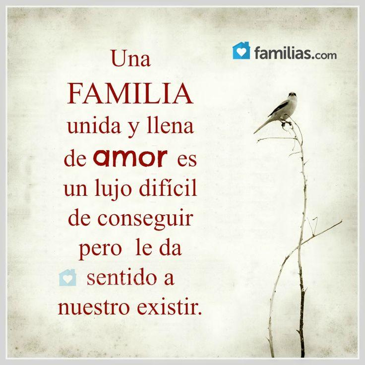 Una familia unida y llena de amor