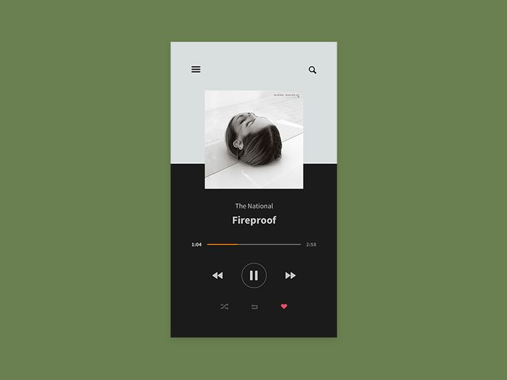 Music Player by Thomas Engebrand