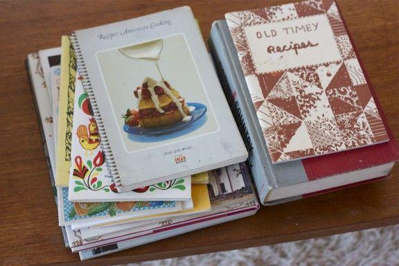Fabulous old cookbooks!