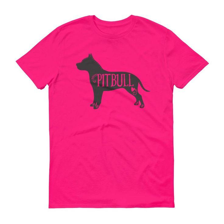 Pitbull T-Shirt, Pitbull Dog Breed Tee, I Love My Pitbull