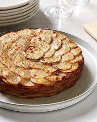 Healthy Potato Gratin with Herbs Recipe on Food & Wine--this is an