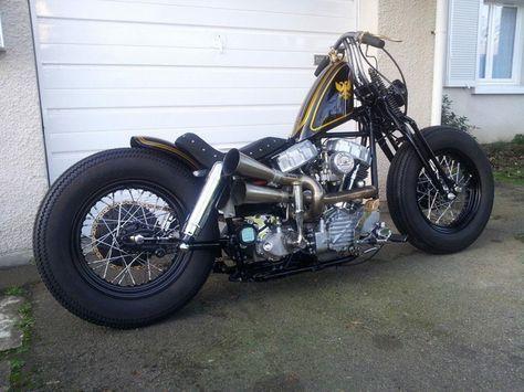 Harley Bobber Chopper : Photo