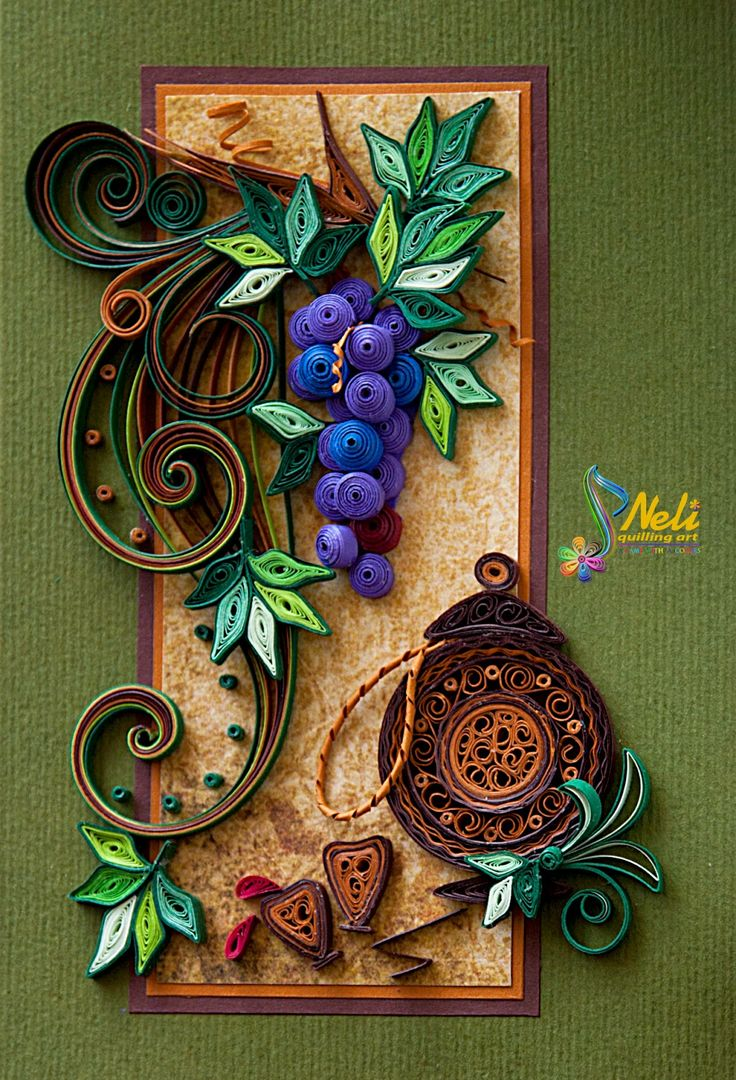 Beautiful work! The grapes are like real! Bravo! Follow your creativity and get inspired!
