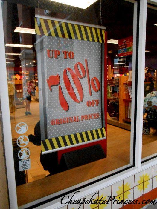 *70% Off Disney Parks Authentic Merchandise? Cheapskate Bargains Galore!