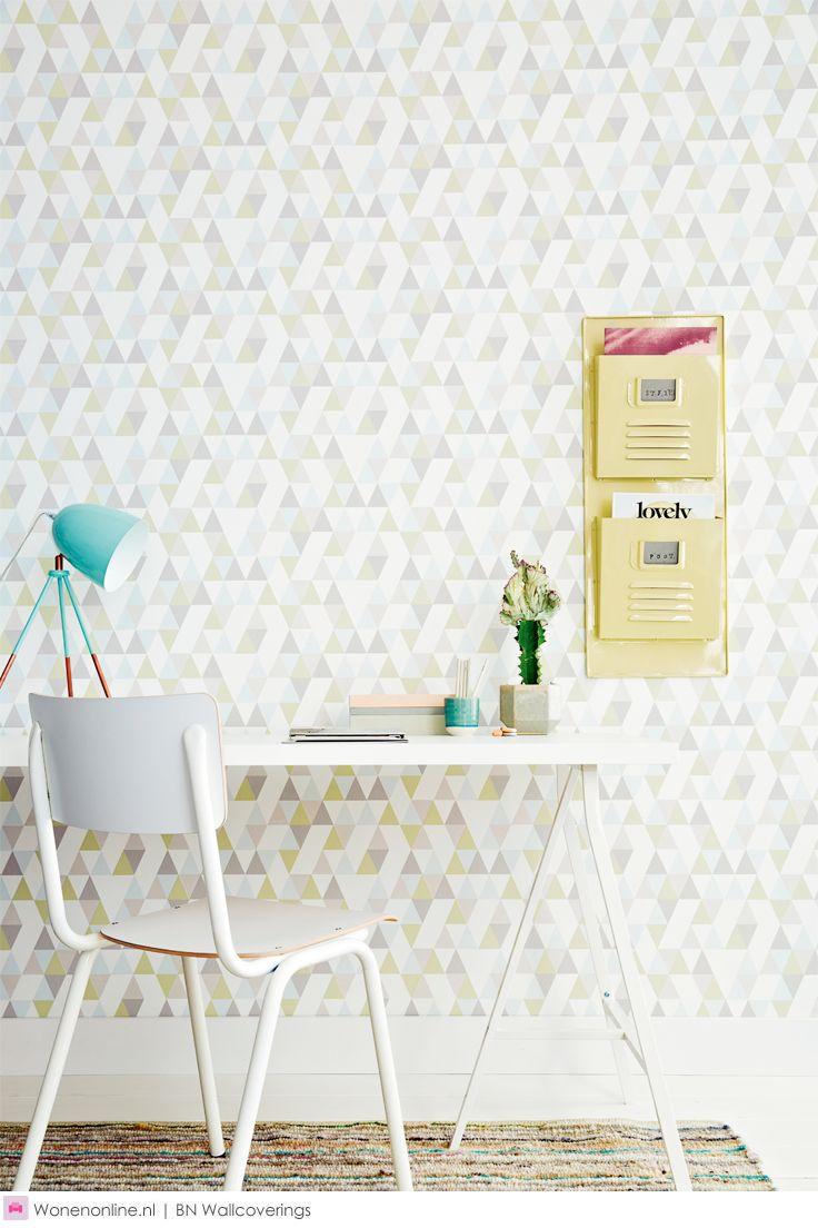 25 beste idee n over scandinavisch patroon op pinterest geometrisch patroon ontwerp mensen - Behang grafisch ontwerp ...