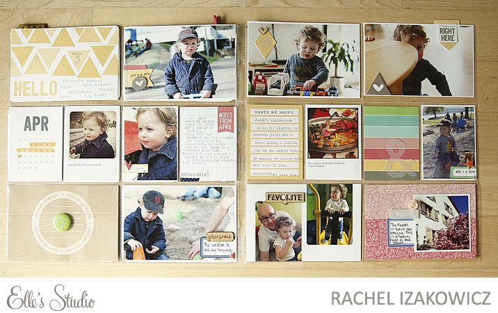 Project Life - Weeks 14 & 15 - Scrapbook.com
