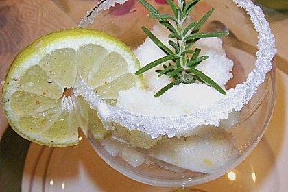 Rosmarin - Zitronen - Sorbet 1