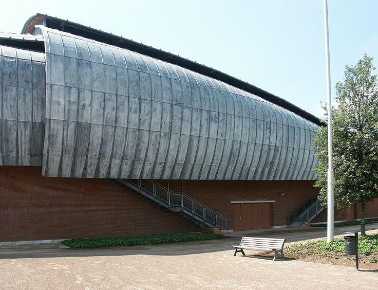Sala Petrassi : Auditorium Parco della Musica, Rome (2002)   Renzo Piano