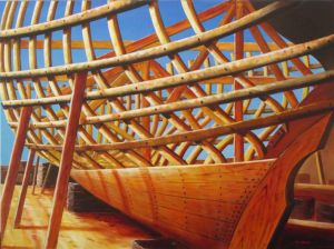 Paul Deacon, 'Under Construction' Oil on canvas, POA at the Remuera Gallery