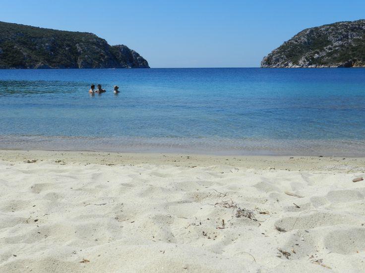 Greece, Sithonia, Porto Koufo beach