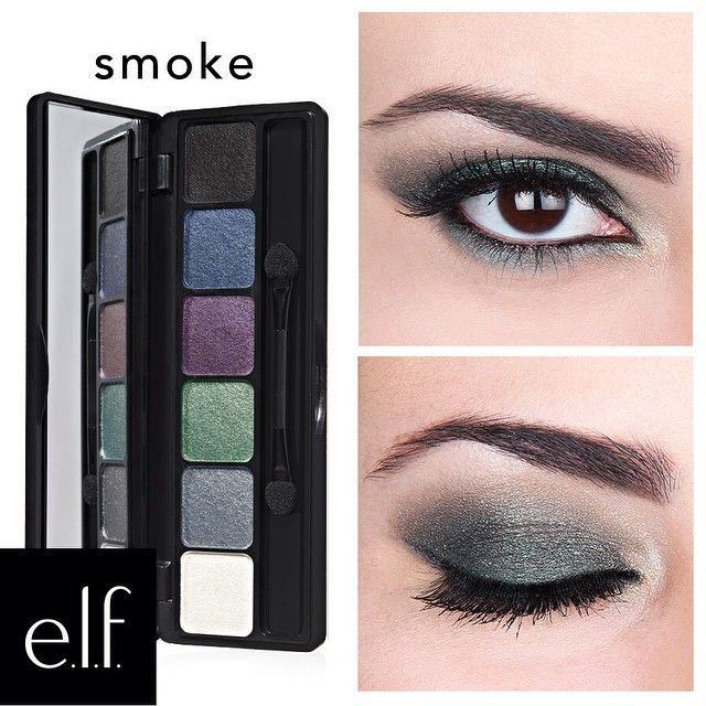 ¡Usa la Paleta de Sombras Prisma Smoke para crear una mirada ahumada y al mismo tiempo hiper brillante!