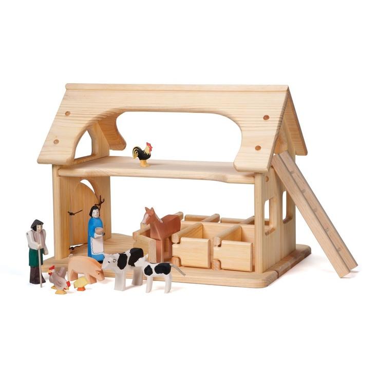 farmyard & stable set - Farm - Playing | Nova Natural Toys + Crafts