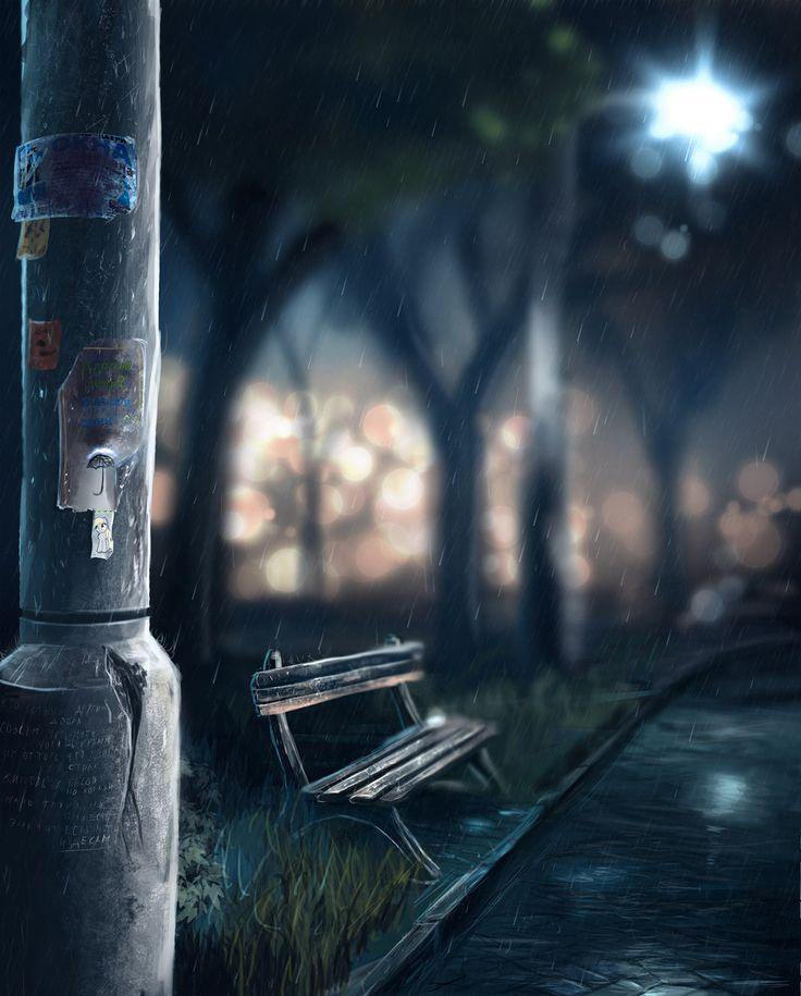 noche fria, si pero hermosa la ves